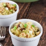 Onion Dill Bread Stuffing | Inspiration Kitchen