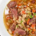 White Beans and Ham Soup