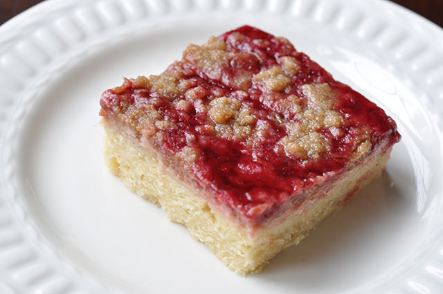 Raspberry Cream Cheese Crumb Cake with Chambord Liqueur - Inspiration ...
