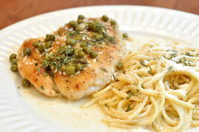 Lemon Chicken Piccata With Capers Inspiration Kitchen