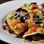 Stuffed Taco Supreme Mexican Pizza