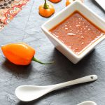 Spicy Habanero Honey BBQ Sauce - inspirationkitchen.com