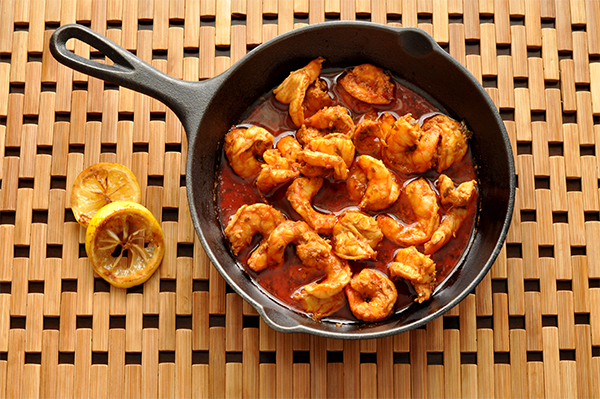 Spicy New Orleans Barbeque Shrimp - inspirationkitchen.com