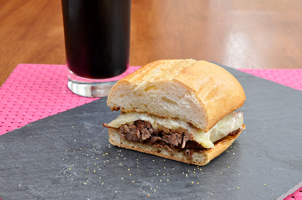 Stout French Dip | Cherry Jasmine