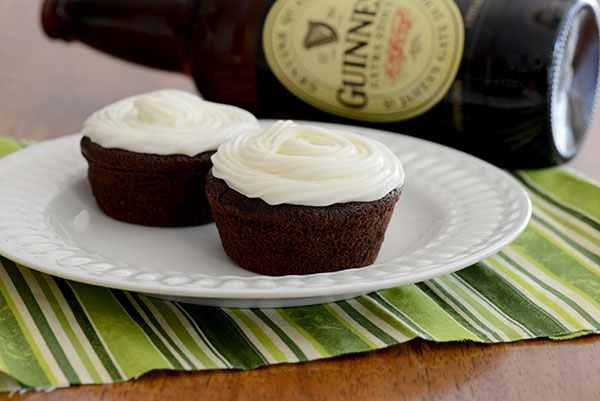 Chocolate Stout Cupcakes with Cream Cheese Frosting - Inspiration ...