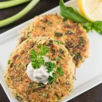 Salmon Burgers with Red Pepper & Capers