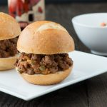 Chipotle Stout Jalapeno Sloppy Joe Sliders