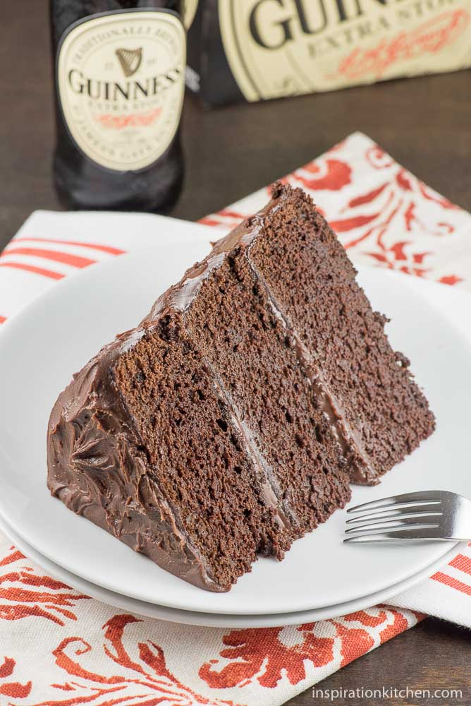 Chocolate Stout Chocolate Cake - inspirationkitchen.com