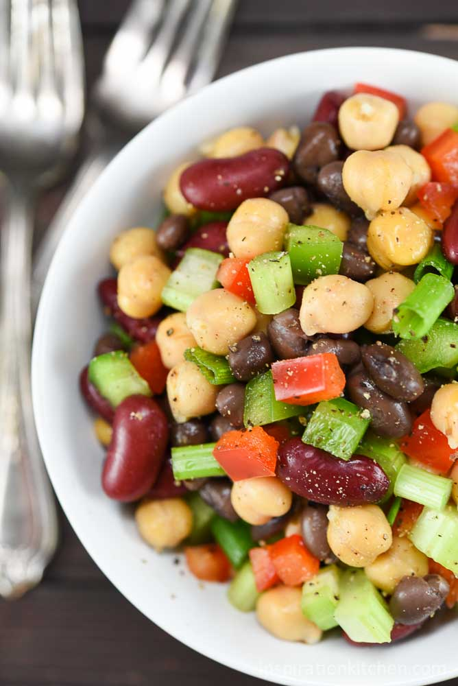 3 Bean Salad | Inspiration Kitchen
