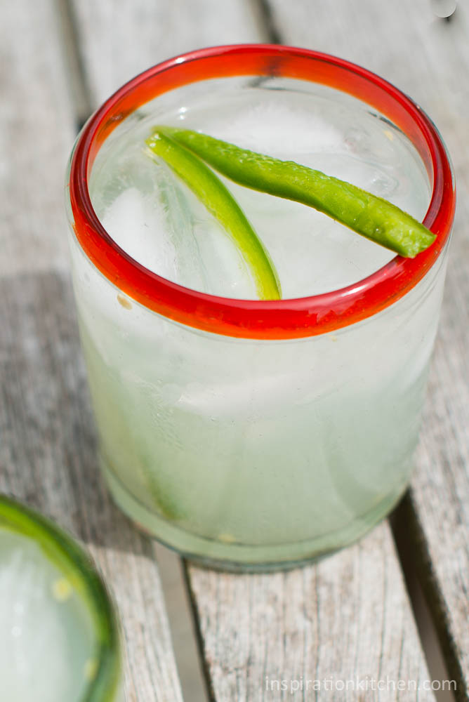 Fresh Lime Jalapeno Margarita | Inspiration Kitchen