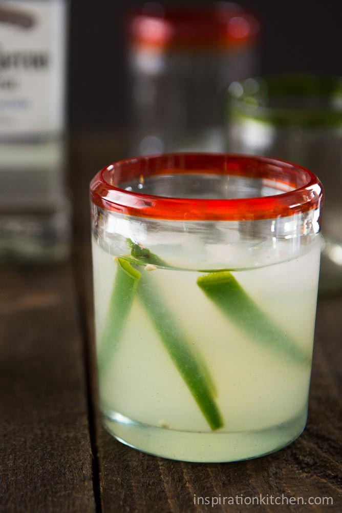 Fresh Lime & Jalapeno Margaritas | Inspiration Kitchen