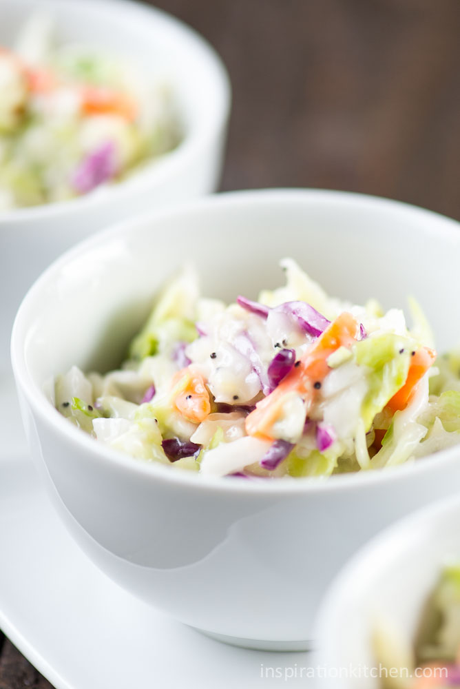 Sweet Restaurant Coleslaw | Inspiration Kitchen