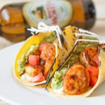 Blackened Shrimp Tacos with Queso Fresco