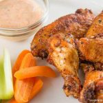 Creole Seasoned Dry Rub Chicken Wings