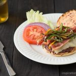 3 Chili Pepper Burgers with Chipotle Mayonnaise
