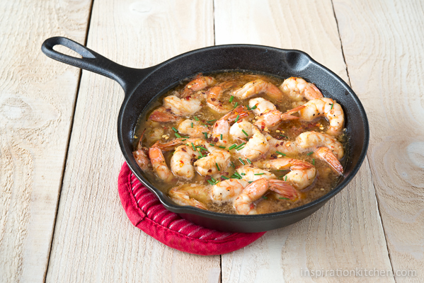 Spicy Chili Sauce Beer Shrimp | Inspiration Kitchen