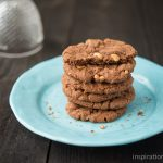Chocolate Hazelnut Biscotti Cookies