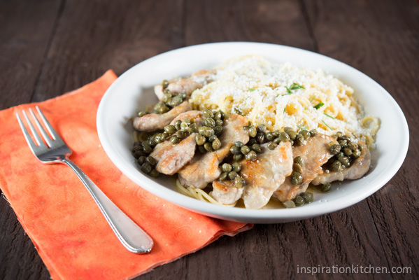Pork scallopini with capers lemon butter inspiration kitchen pork scallopini with capers lemon butter inspirationkitchen forumfinder Choice Image