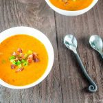 Easy Fresh Tomato & Serrano Chili Pepper Soup