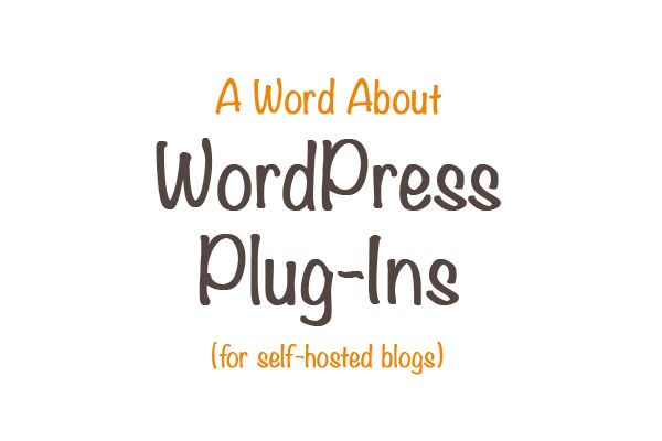 A Word About WordPress Plugins | Inspiration Kitchen