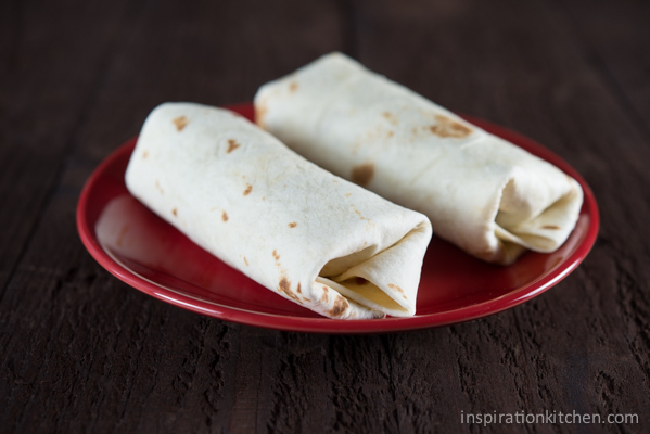 Easy Freezer Breakfast Burrito | Inspiration Kitchen