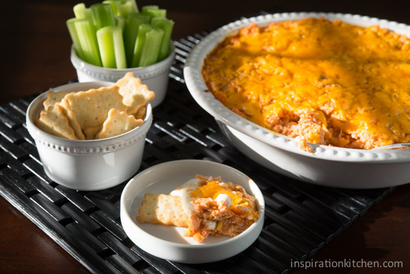 Buffalo Chicken Wing Dip | Inspiration Kitchen