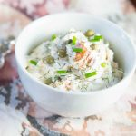Cajun Smoked Salmon Dip with Capers & Shallots