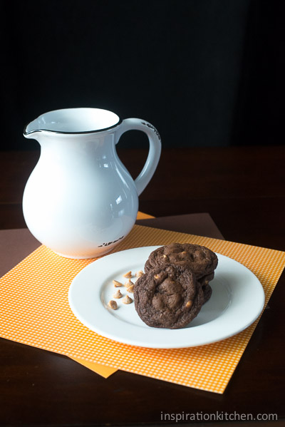 Peanut Butter Chip Chocolate Cookies 02 | Inspiration Kitchen