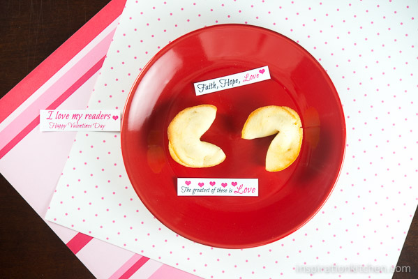 Fortune Cookies | Inspiration Kitchen