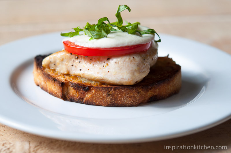 Balsamic Roasted Tomato Caprese Sandwich Recipes — Dishmaps
