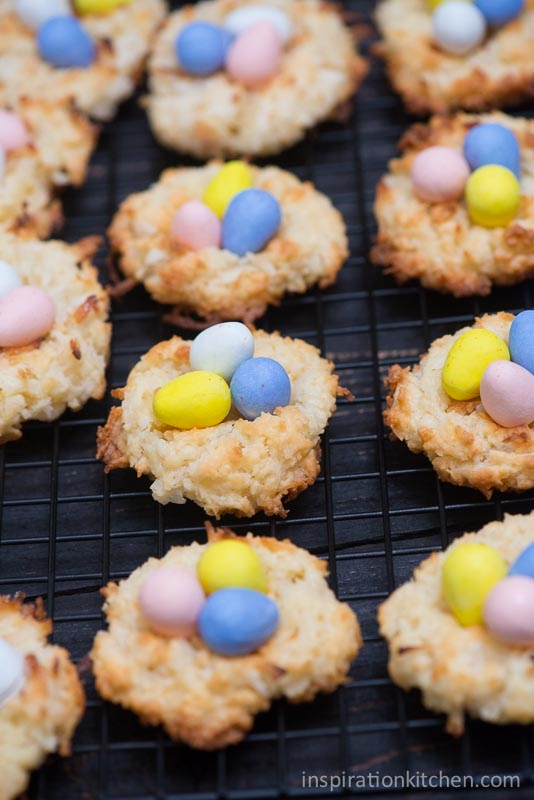 Macaroon Birds Nest Cookies | Inspiration Kitchen-6382