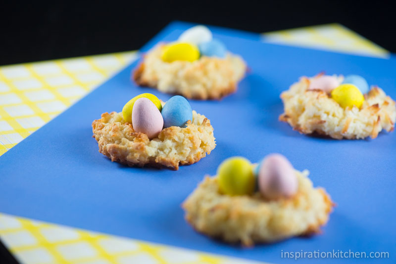 Macaroon Birds Nest Cookies | Inspiration Kitchen-6385