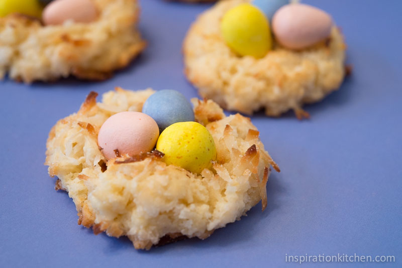 Macaroon Birds Nest Cookies | Inspiration Kitchen-6481
