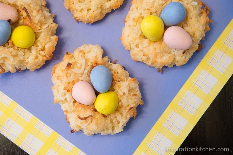 Macaroon Birds Nest Cookies | Inspiration Kitchen-6498