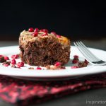 Pomegranate Cream Cheese Brownies