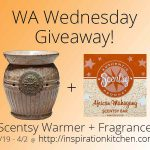 Giveaway! Scentsy Warmer + Fragrance