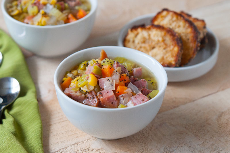 Split Pea & Ham Soup - inspirationkitchen.com