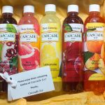 Cascade Ice Review & Giveaway + Peach Mango Mimosa Shooters Recipe