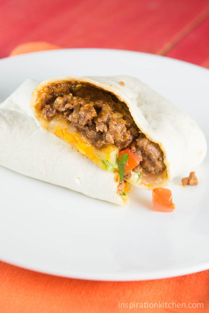 Beef Meximelt Taco Bell Clone | Inspiration Kitchen