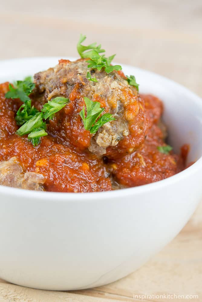 Italian Meatballs | Inspiration Kitchen