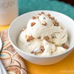 Candied Pecan Maple Ice Cream