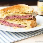 Potato Chip & Pastrami Grilled Cheese Sandwich