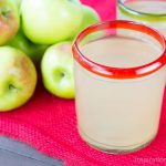 Easy No-Waste {Guilt Free} Fresh Apple Juice