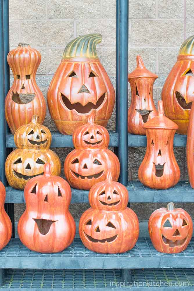 Glass Pumpkins | Inspiration Kitchen
