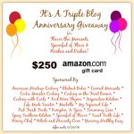 250 Amazon Gift Card Giveaway