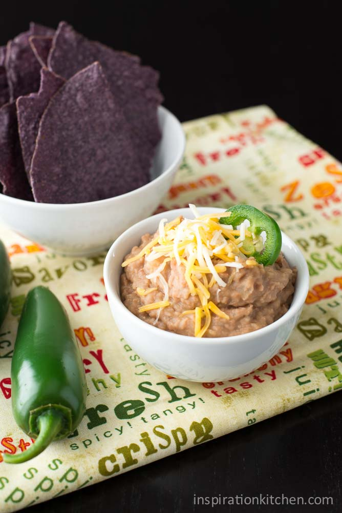 Slow Cooker Refried Beans   Inspiration Kitchen