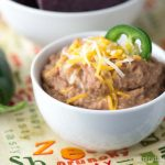 Slow Cooker Refried Beans | Inspiration Kitchen