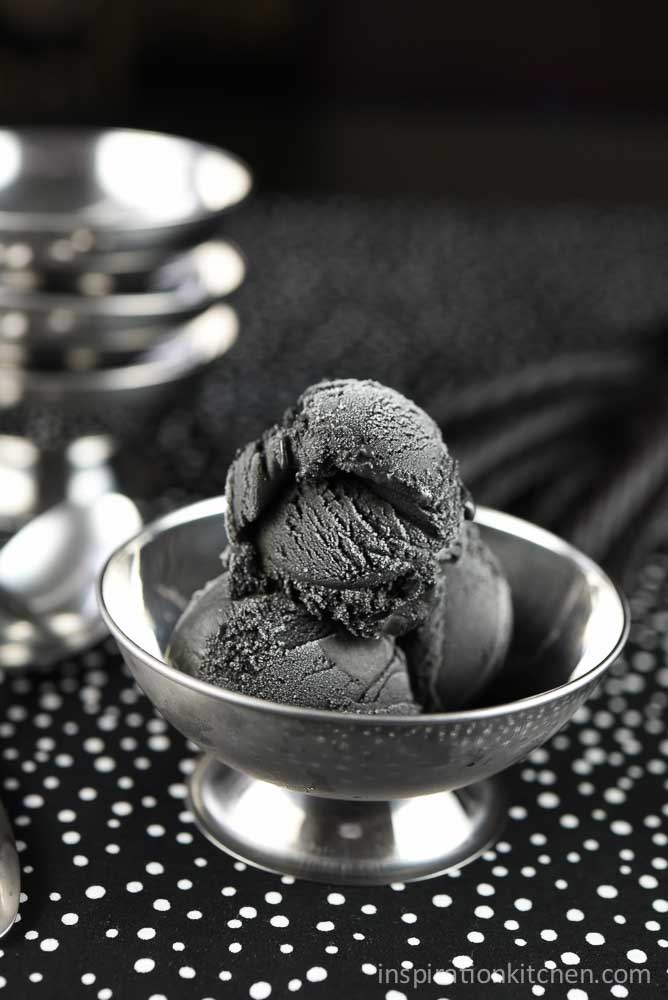 Black Licorice Ice Cream | Inspiration Kitchen