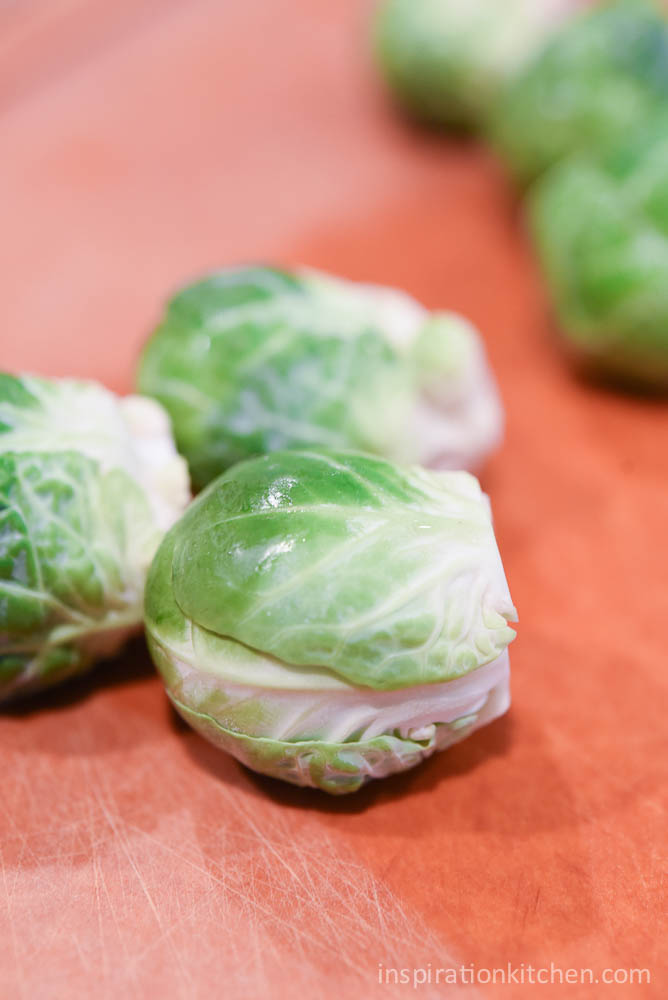Garlic Brussel Sprout Bacon Pizza   Inspiration Kitchen