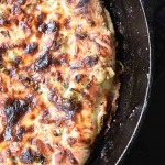 Garlic Brussel Sprout Bacon Pizza | Inspiration Kitchen